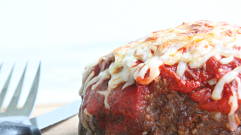 Pizza Meatloaf from Table for Seven