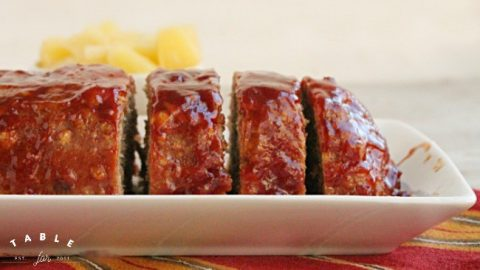 Pineapple Meatloaf from Table for Seven