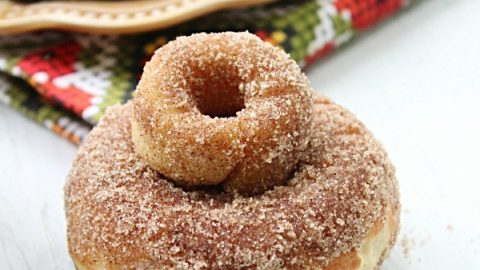 Baked Apple Cider Doughnuts from Table for Seven