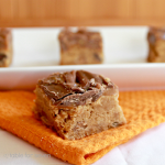 Peanut Butter Caramel Cookie Bars- Table for Seven
