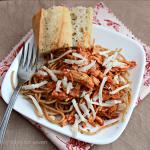 Crock Pot Chicken Parmesan- Table for Seven
