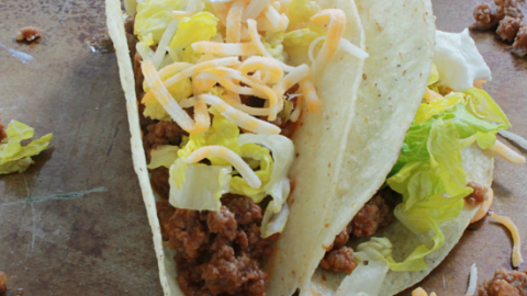 Ground Beef (or Turkey) Taco Meat #groundbeef #groundturkey #tacos #tableforsevenblog @tableforseven