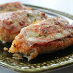 Skillet Breaded Chicken Cordon Bleu #cordonbleu #chicken #skillet #dinner #chickencordonbleu #tableforsevenblog