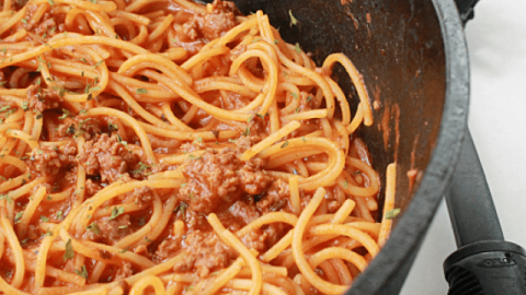 One Pot Spaghetti from Table for Seven