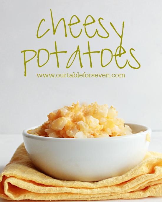 Cheesy Potatoes #potatoes #cheese #sidedish