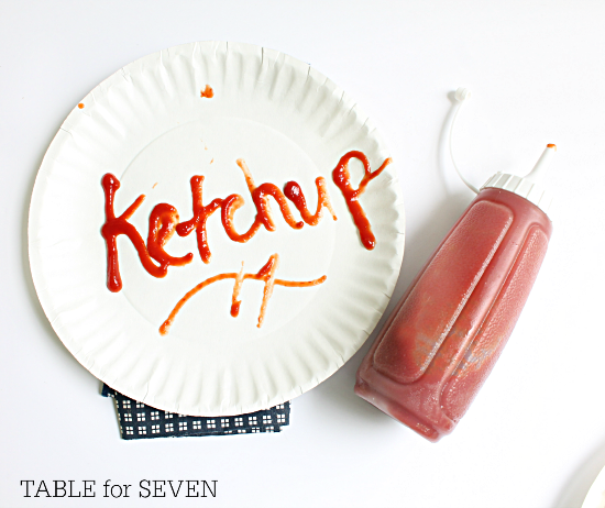 Homemade Ketchup #homemade #ketchup #tableforsevenblog