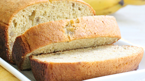Cake Mix Banana Bread from Table for Seven