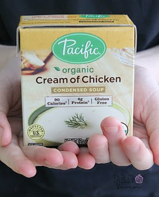 Crock Pot Cheesy Chicken from Table for Seven