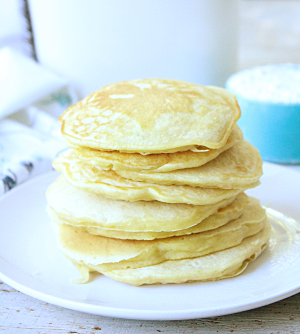 Homemade Pancake Mix #pancakemix #pancake #breakfast #readymix #tableforsevenblog