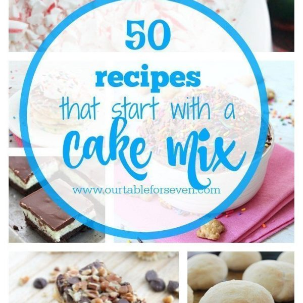 50 Recipes that Start with a Cake Mix