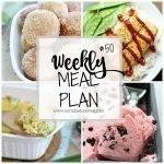 Weekly Meal Plan #50