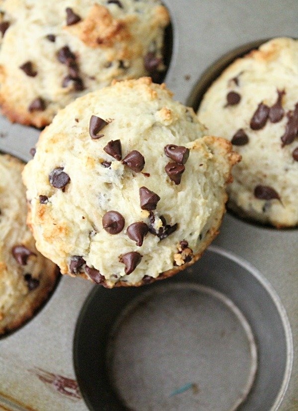 Chocolate Chip Muffins with Ricotta Cheese : Table for Seven