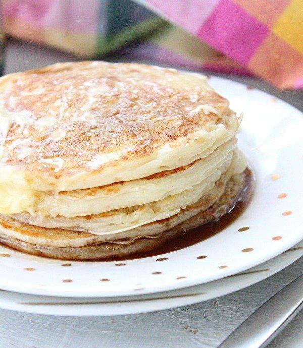 Greek Yogurt Pancakes from Table for Seven