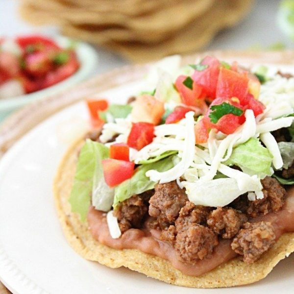 Beef Tostadas from Table for Seven