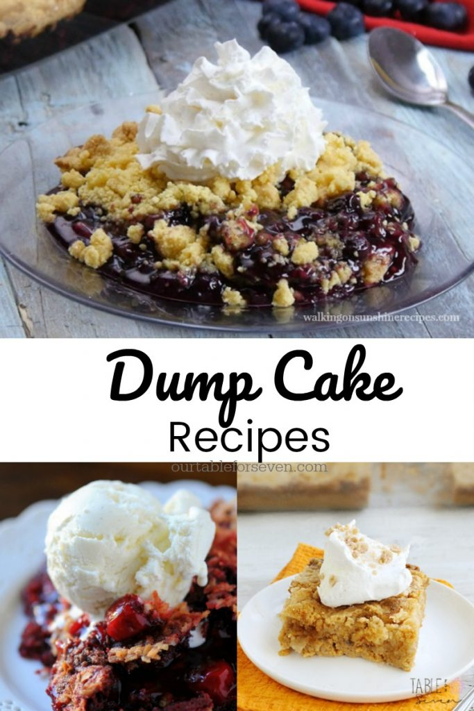 Dump Cake Recipes from Table for Seven