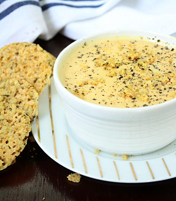 Instant Pot Four Cheese Soup