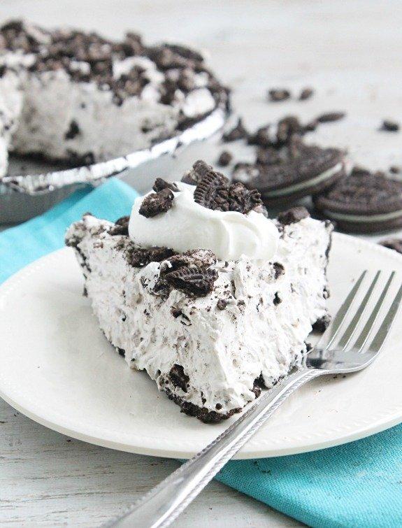 No Bake Oreo Cheesecake #oreo #nobake #cheesecake #dessert #tableforsevenblog