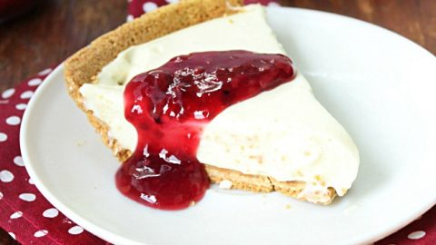 Four Ingredients Cheesecake from @tableforseven #tableforsevenblog #cheesecake #dessert #recipe