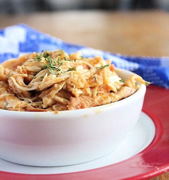 Crock Pot Zesty Italian Chicken