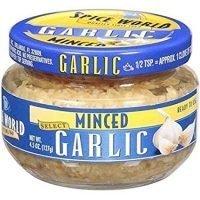 Spice World Minced Garlic, 4.5 oz