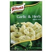 Knorr Pasta Sauces Garlic Herb Sauce Mix 1.6 Oz(Pack of 3)