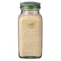 Simply Organic Garlic Powder | Certified Organic | Kosher Certified | 3.64-Ounce Glass Bottle