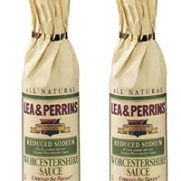 Lea & Perrins Reduced Sodium Worcestershire Sauce (Pack of 2)