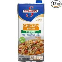 Swanson Unsalted Chicken Broth
