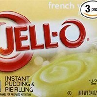 Jell-O French Vanilla Pudding , 3.4 OZ