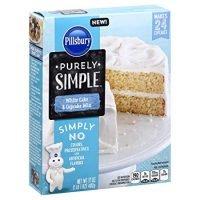 Pillsbury Purely Simple White Cake Mix, 17 oz