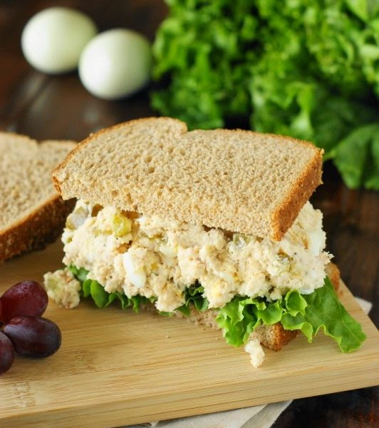 Traditional Southern Chicken Salad: Inspire Me Monday #329