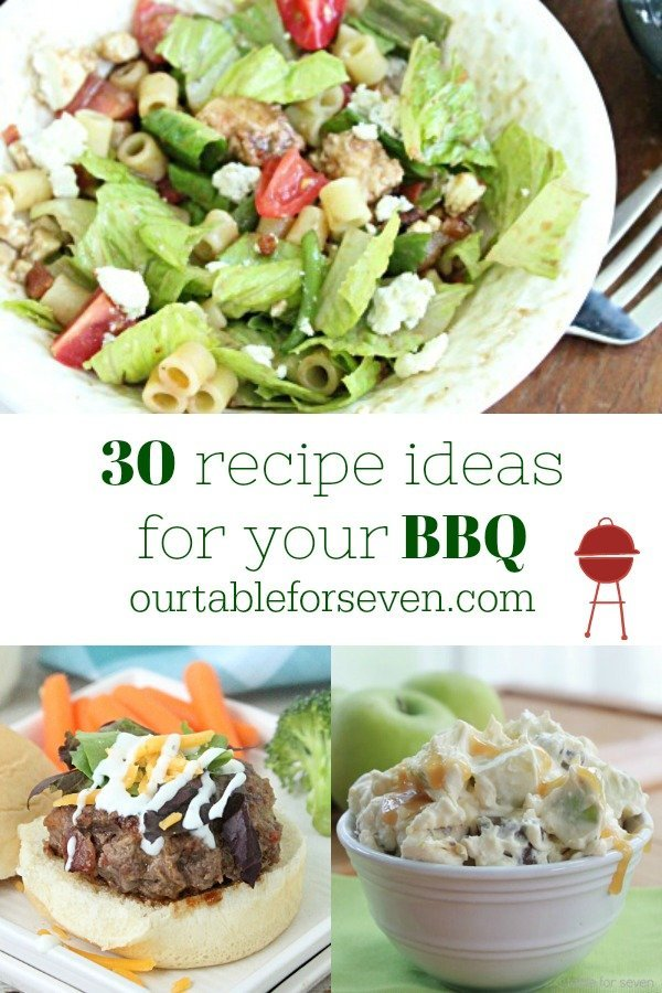 BBQ Recipes- Table for Seven #bbqrecipes #tableforsevenblog #reciperoundup