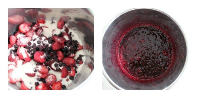 Mixed Berry Jam - For Instant Pot and Crock Pot - Table for Seven #crockpot #slowcooker #instantpot #pressurecooker #jam #berries