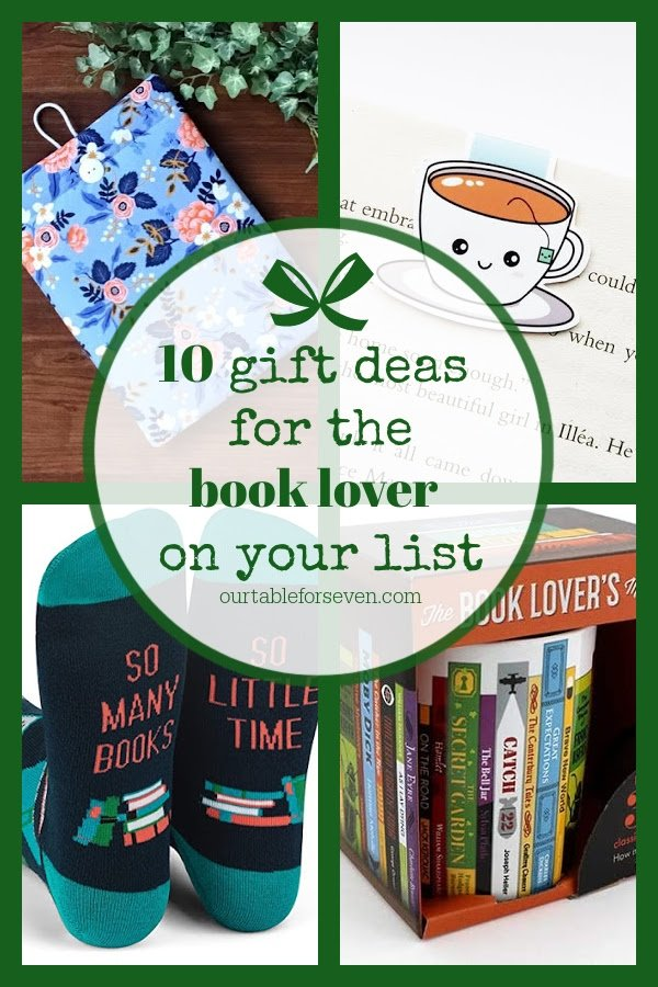 Book Lover Gift Guide- Table for Seven