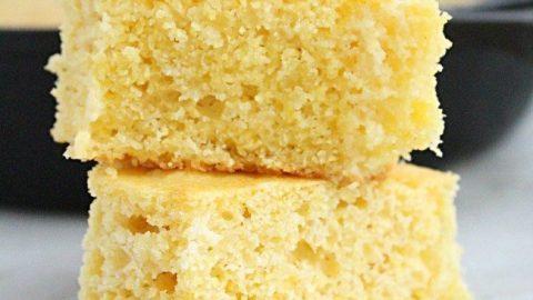 Buttermilk Cornbread #buttermilk #cornbread #bread #tableforsevenblog