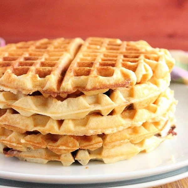 Buttermilk Waffles- Table for Seven