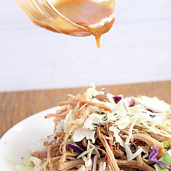 Carolina BBQ Sauce- Table for Seven #tableforsevenblog #bbqsauce #carolinabbqdauce