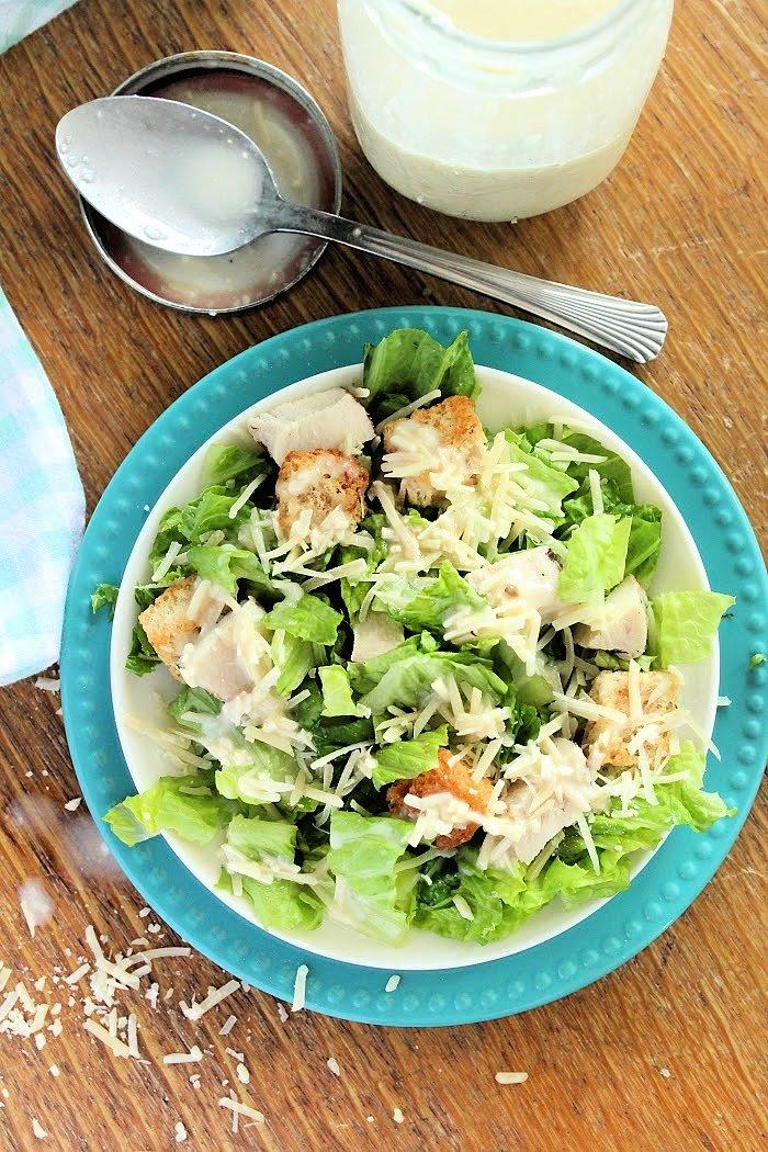 Chicken Caesar Salad- Table for Seven