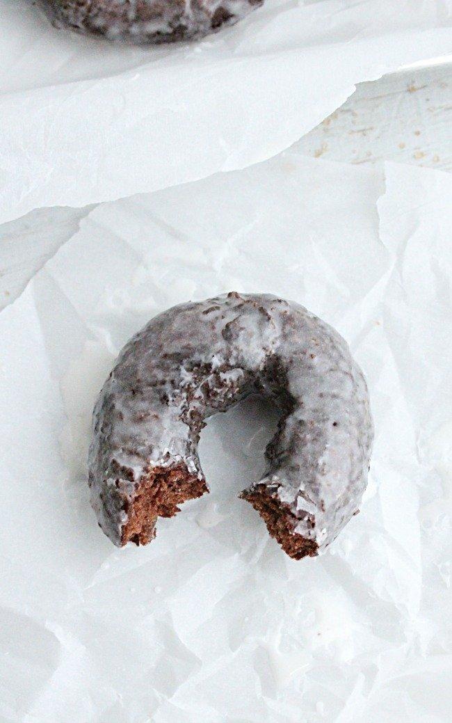 Chocolate Glazed Doughnuts #doughnuts #donuts #chocolate #glazed #glazeddoughnut #tableforsevenblog