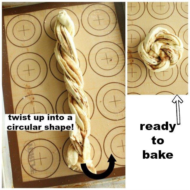 Cinnamon Sugar Crescent Swirl Bread- #tableforsevenblog #cinnamonsugar #bread #crescent