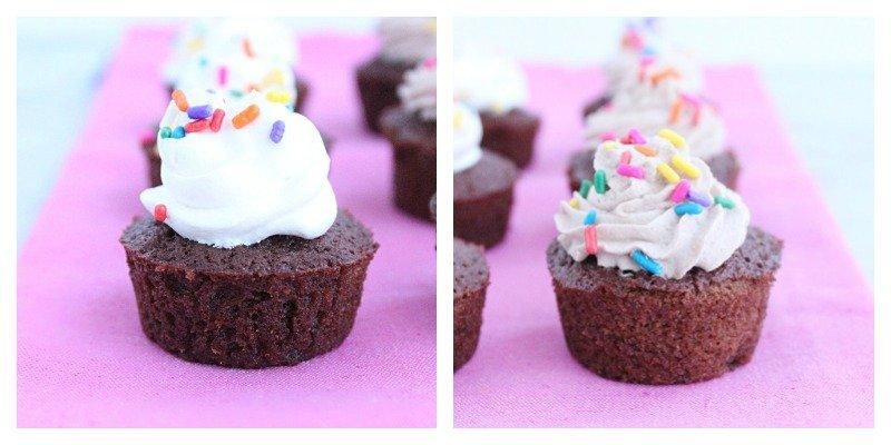 Diet Soda Brownie Bites #dietsode #brownies #chocolate #dessert #tableforsevenblog #guiltfreedessert