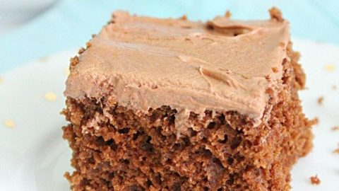 Homemade Chocolate Cake Mix- Table for Seven #chocolatecakemix #chocolatecake #cakemix #dessert #homemade