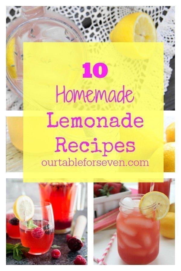 Lemonade Recipes #recipes #lemon #drinks #lemonade #homemade