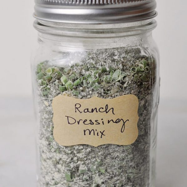 Homemade Ranch Dressing Mix at Inspire Me Monday #331