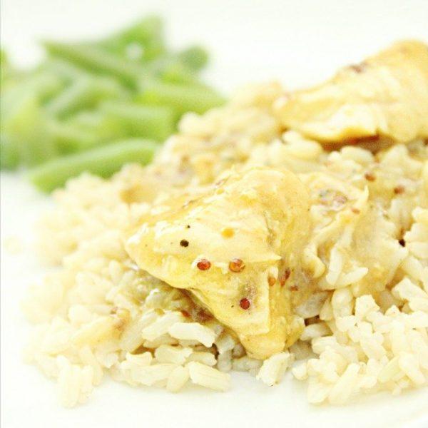 Honey Mustard Chicken: For Instant Pot & Crock Pot - Table for Seven