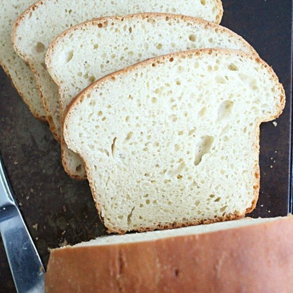 No Knead Sandwich Bread- Table for Seven #noknead #bread #sandwichbread