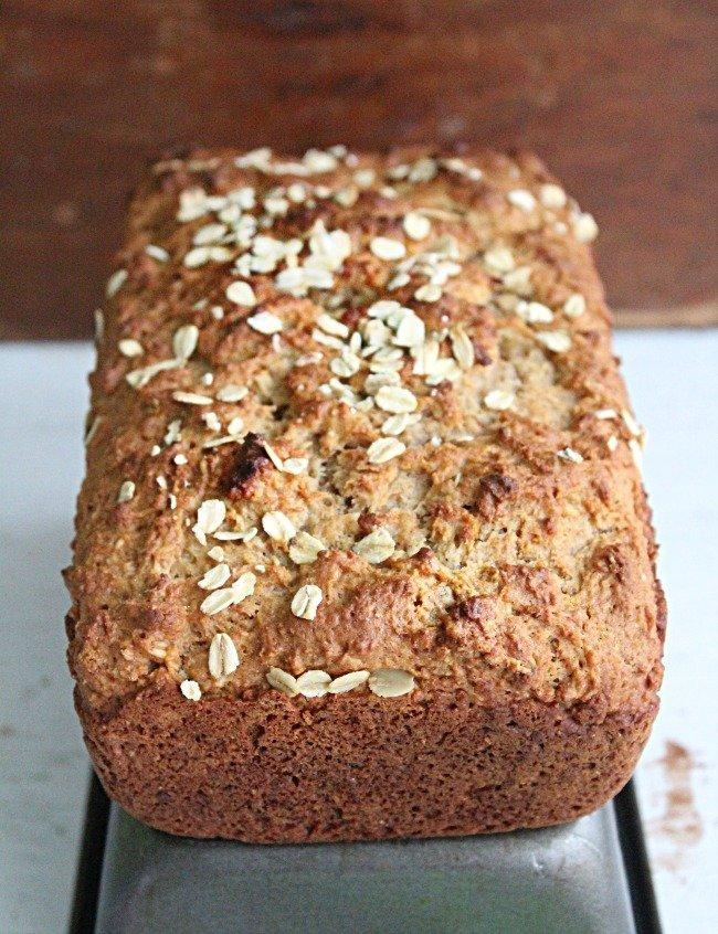 No Yeast Oat Bread- Table for Seven #bread #noyeast #oats #oatbread #homemade bread