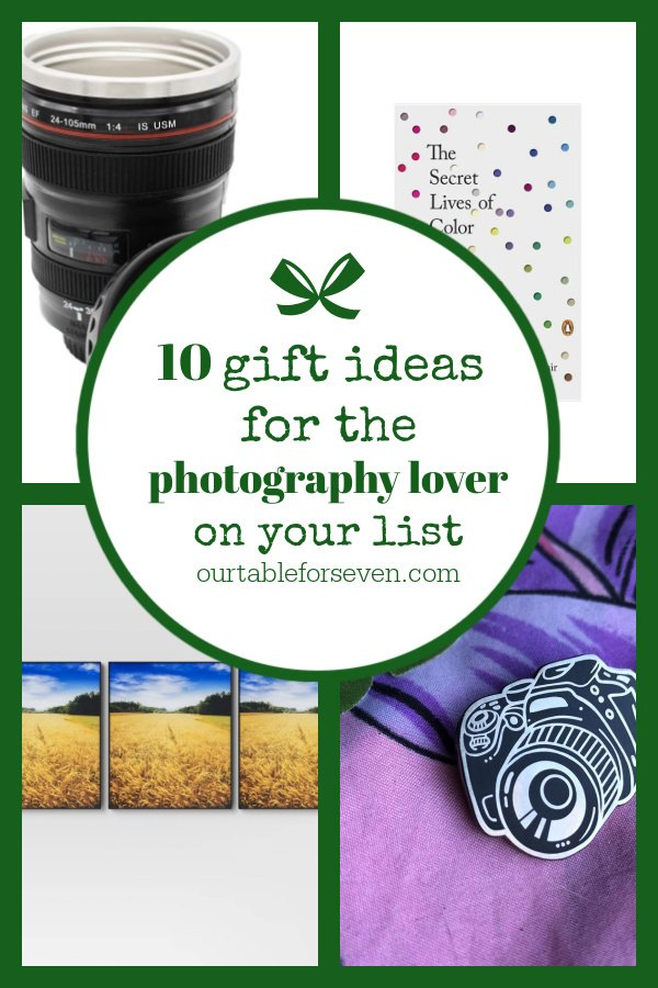 10 Gift Ideas for the Photography  Lover on Your List (Under $20)