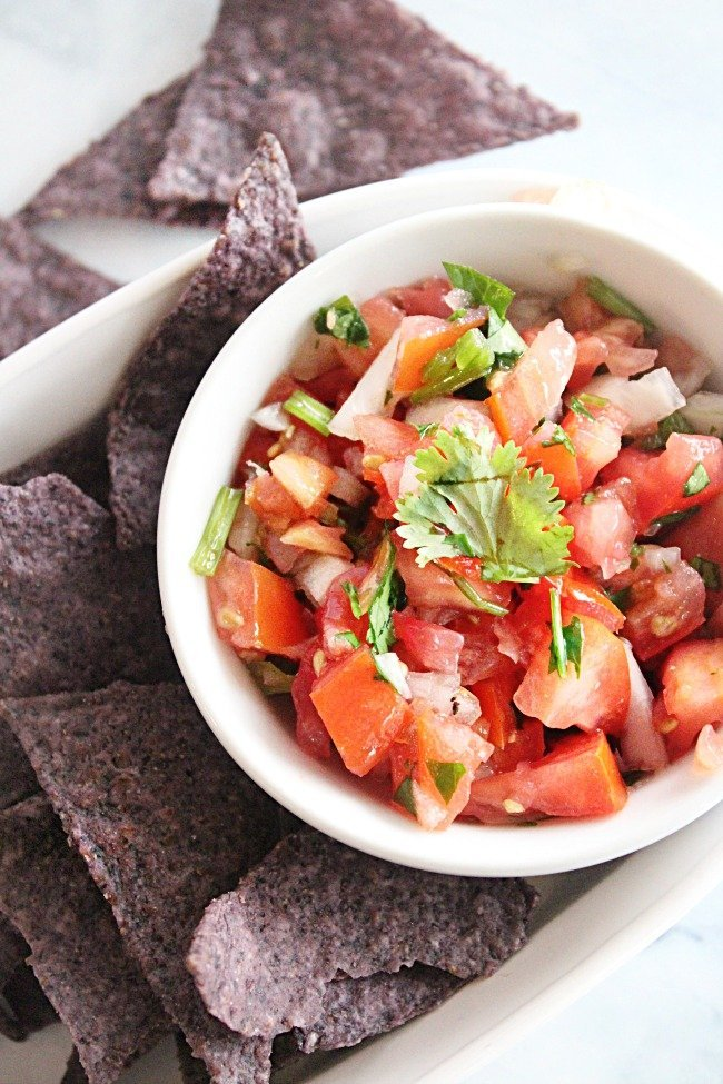 Pico de Gallo- Table for Seven #tableforsevenblog #picodegallo