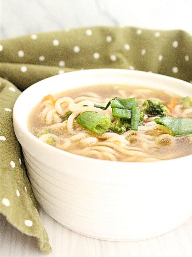 Ramen Noodle Soup- #tableforsevenblog #ramen #noodlesoup #soup #dinner